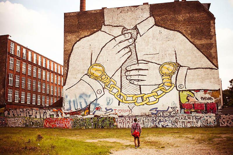 1352 Лучшие работы в жанре Стрит арт в апреле 2012