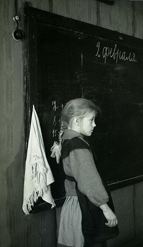 1364 Школа в советской деревне 1964 год