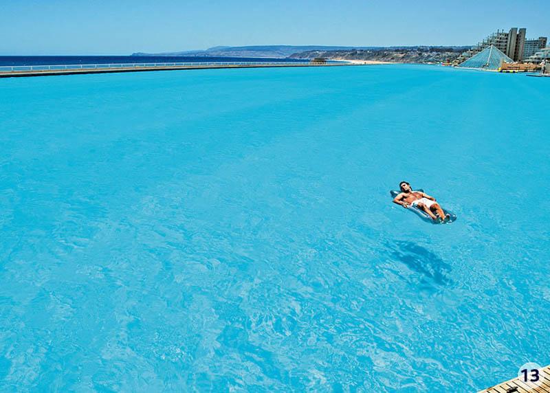 1383 Самый большой бассейн в мире