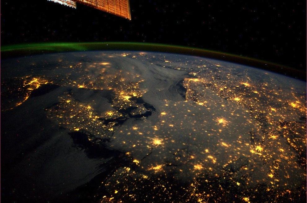 1412 Удивительные фото северного сияния