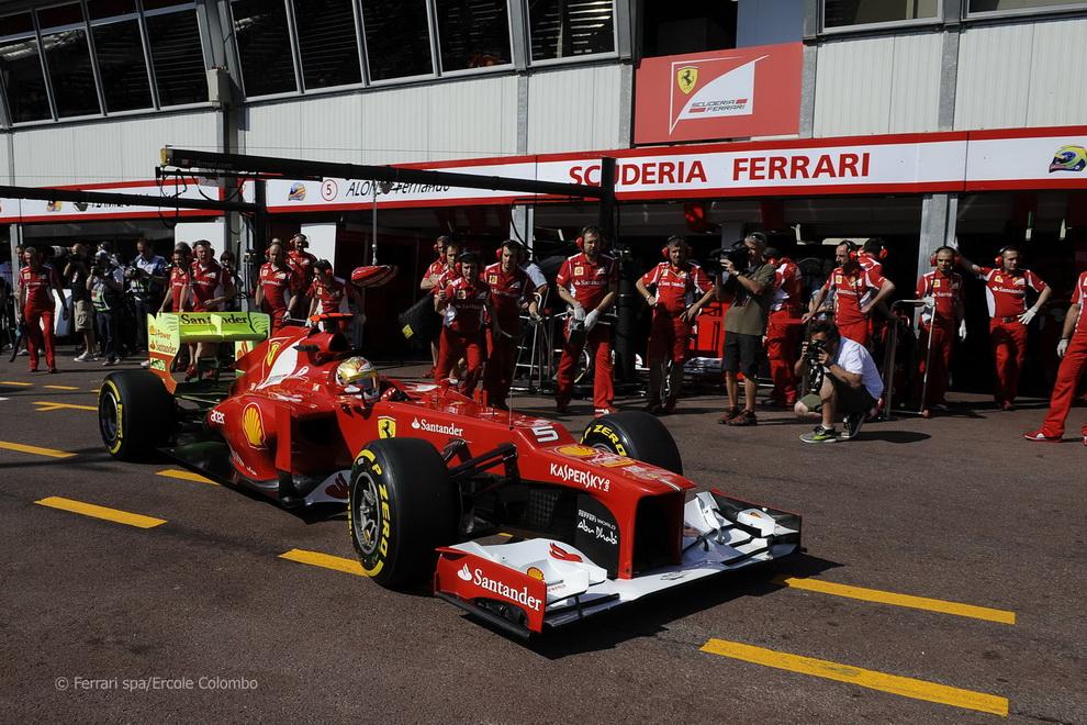 14136 За кадром 70 го Гран При Монако 2012: фоторепортаж
