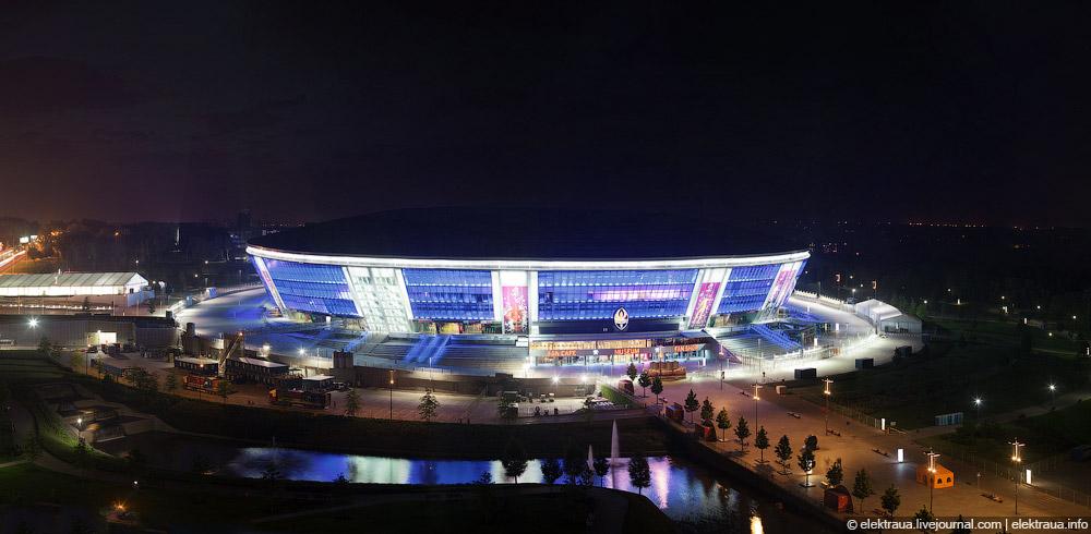 14148 Донецкий стадион Донбасс арена