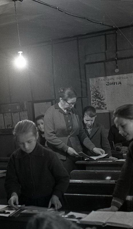 1461 Школа в советской деревне 1964 год