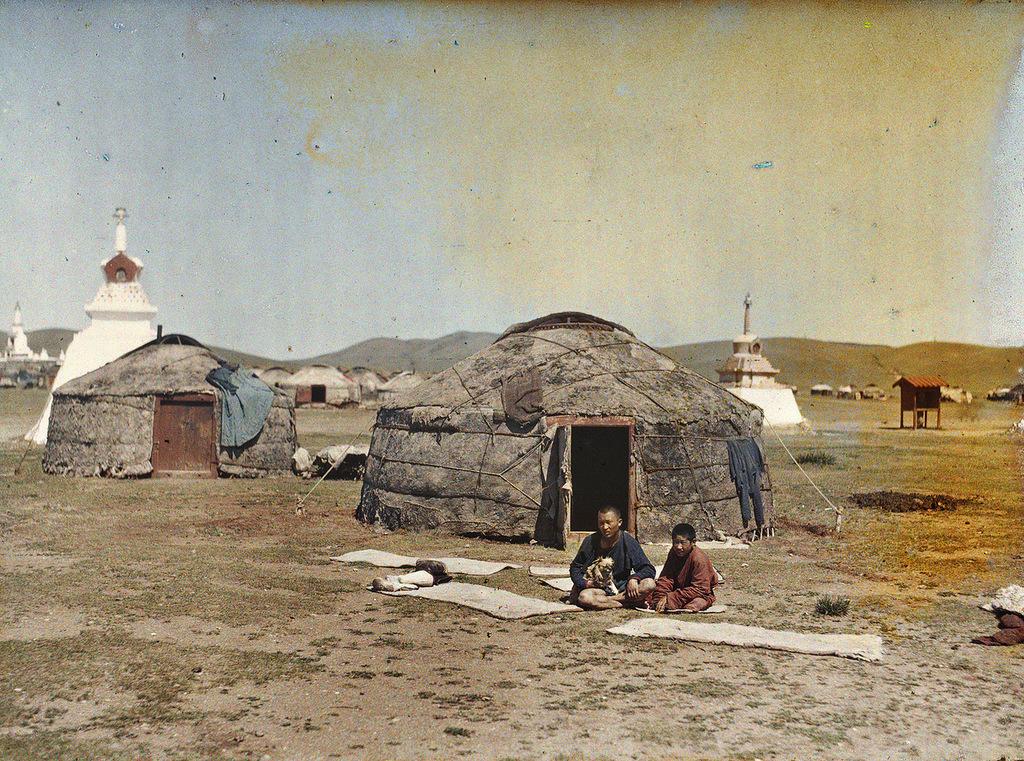 15 Глубокий феодализм в цвете: Российский протекторат Монголия в 1913