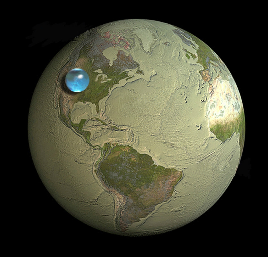 Get an answer for What percent of the earth is land and how much is water and find homework help for other Geology questions at eNotes