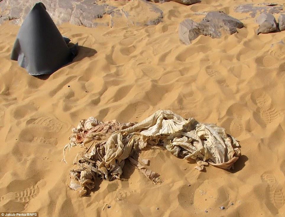 1587 В Сахаре нашли самолет Королевских ВВС времен Второй мировой