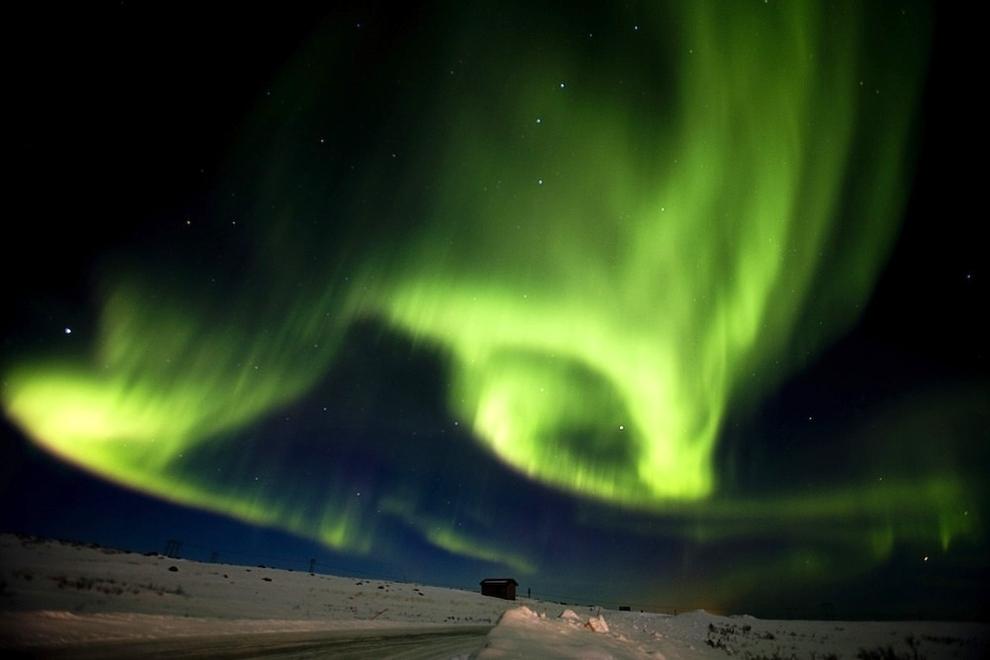 160 Удивительные фото северного сияния