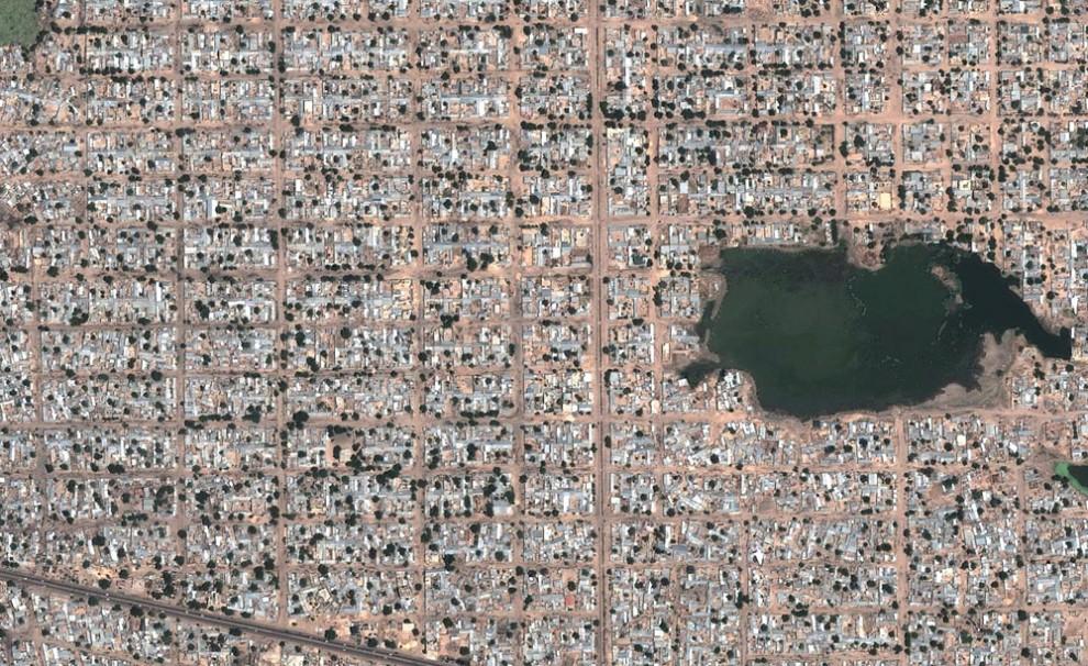 16107 Интересные объекты «Google Планета Земля»