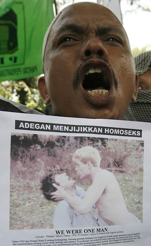 16118 Лица гомофобии разных стран мира