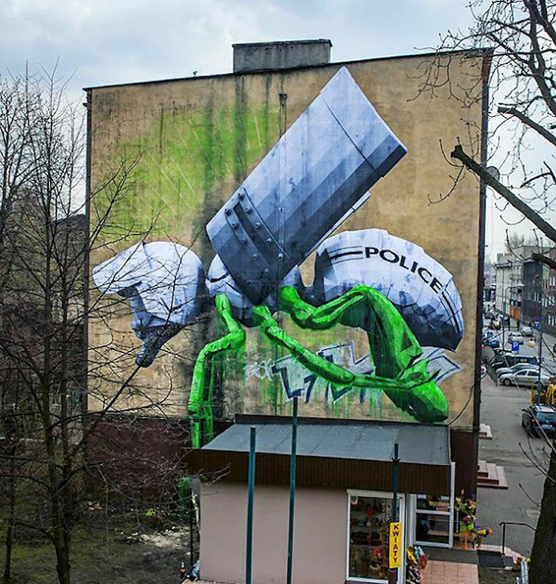 1643 Лучшие работы в жанре Стрит арт в апреле 2012
