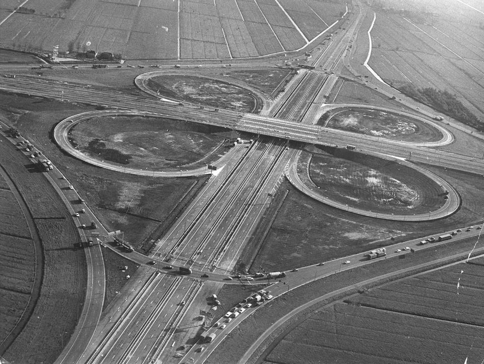 1677 Фотографии Нидерландов с воздуха