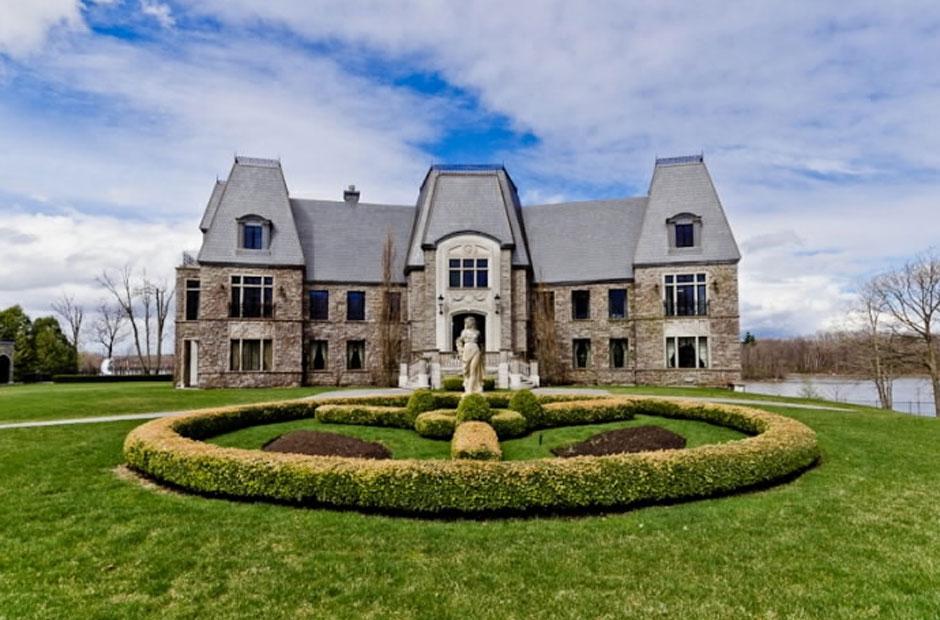 1706 Роскошное жилище Селин Дион – самый дорогой дом в провинции Квебек, Канада