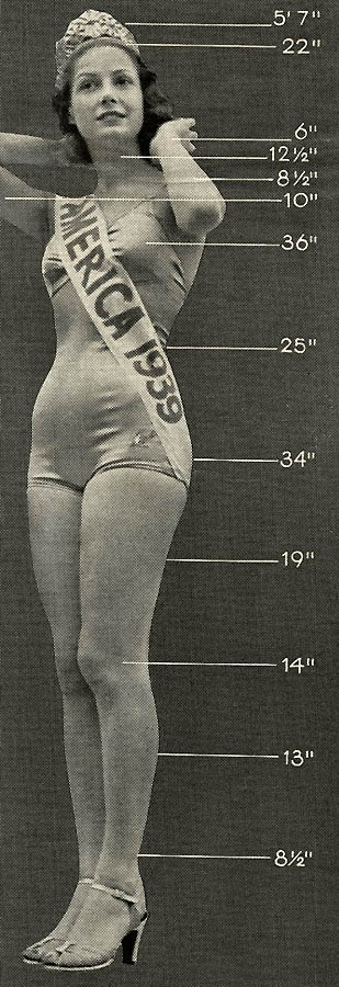 17100 Конкурсы красоты в Америке между двумя войнами   1924 1939 годы