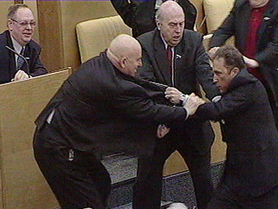 1742 Кулачные бои в парламентах