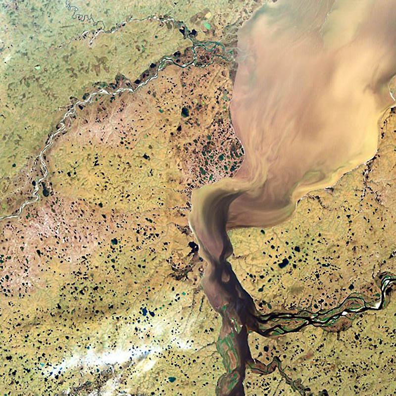17 дельта реки хатанга в сибири россия