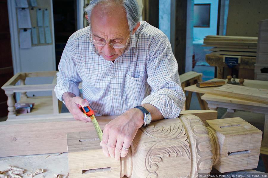 182 Как создают элитную английскую мебель (Часть 2)