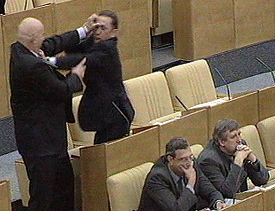 1838 Кулачные бои в парламентах