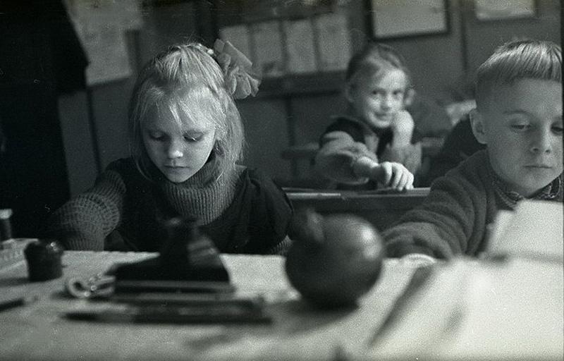 1843 Школа в советской деревне 1964 год