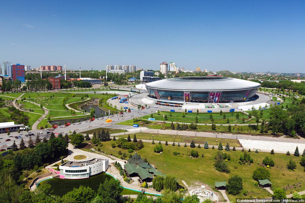 1908 Донецкий стадион Донбасс арена