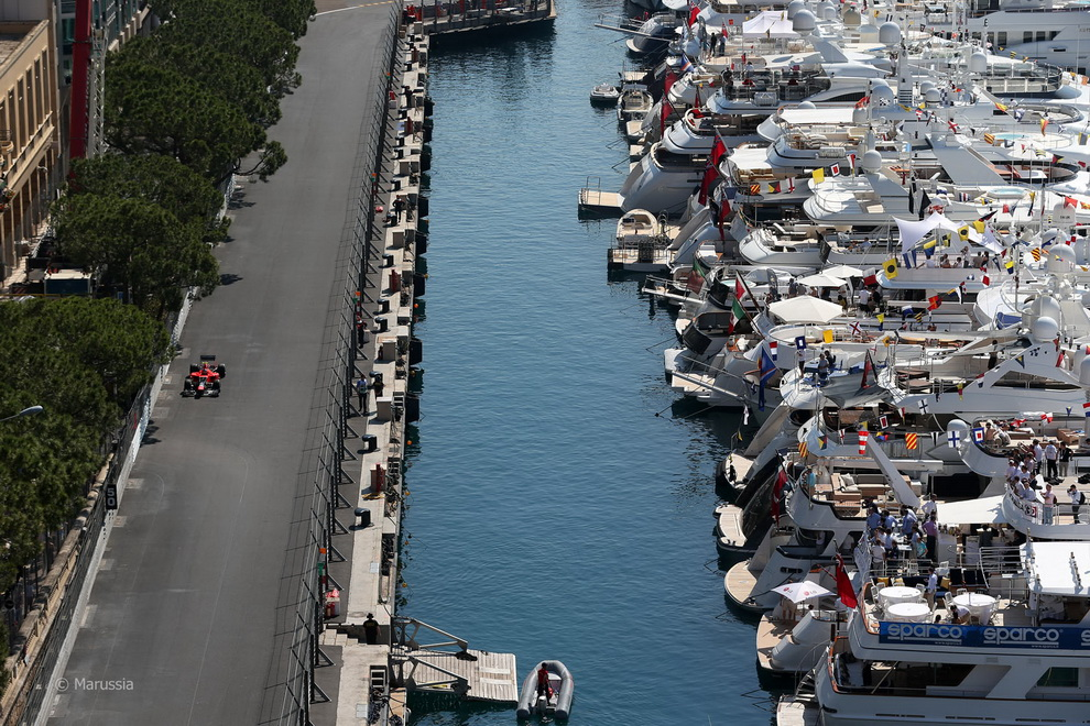 1982 За кадром 70 го Гран При Монако 2012: фоторепортаж