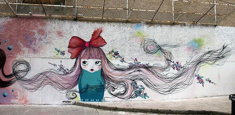 2031 Лучшие работы в жанре Стрит арт в апреле 2012