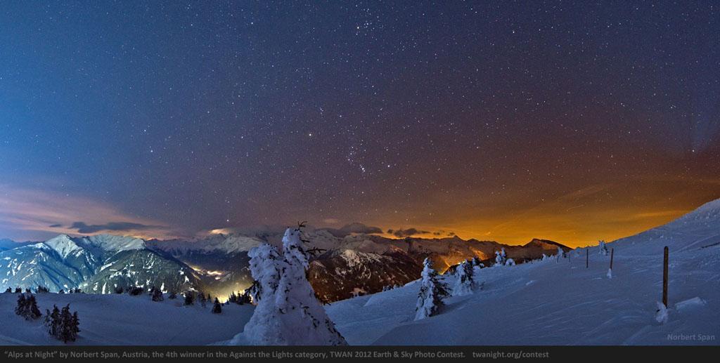 2207 Лучшие фотографии ночного неба 2012