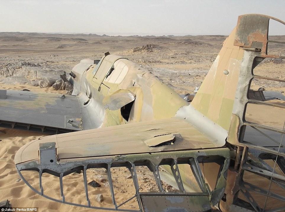 2260 В Сахаре нашли самолет Королевских ВВС времен Второй мировой