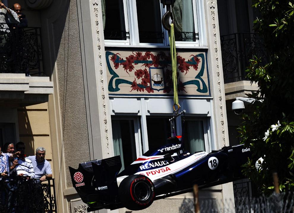 2384 За кадром 70 го Гран При Монако 2012: фоторепортаж