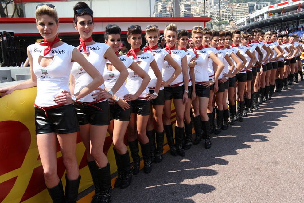 2452 За кадром 70 го Гран При Монако 2012: фоторепортаж