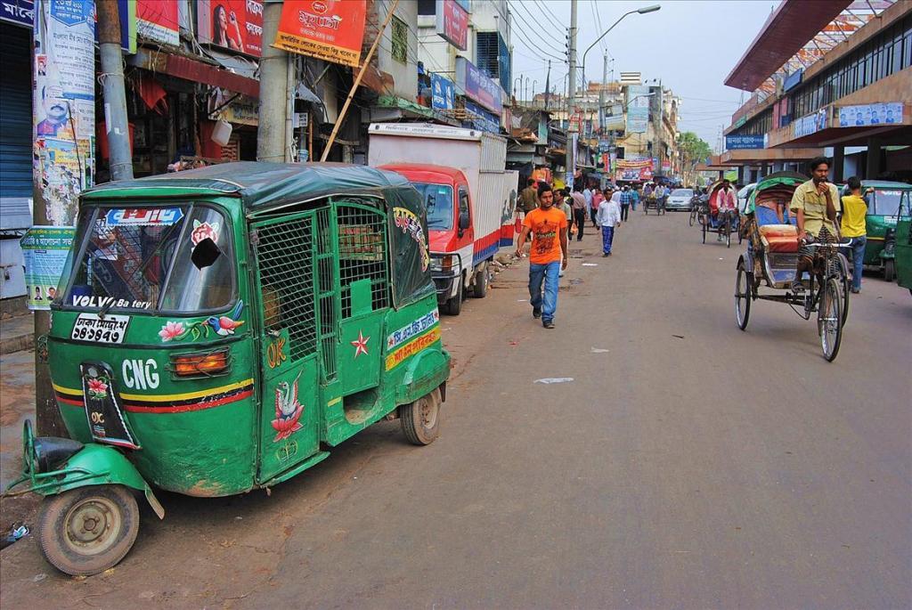 2520 Дакка: хроники социальной помойки или как пережить 5 дней в ужасном мегаполисе