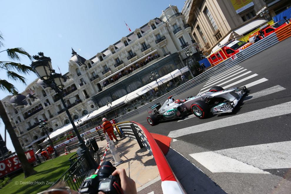 2836 За кадром 70 го Гран При Монако 2012: фоторепортаж