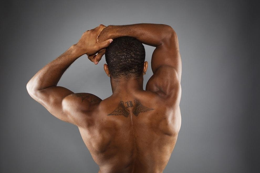 2933 Растяжка спортсменов   поэзия человеческого тела