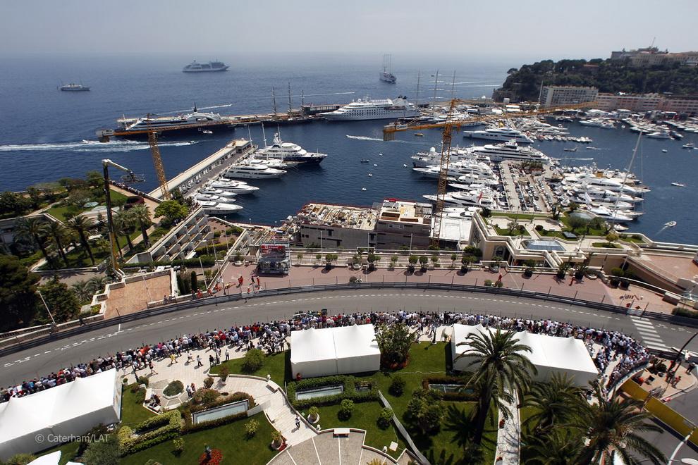 3030 За кадром 70 го Гран При Монако 2012: фоторепортаж