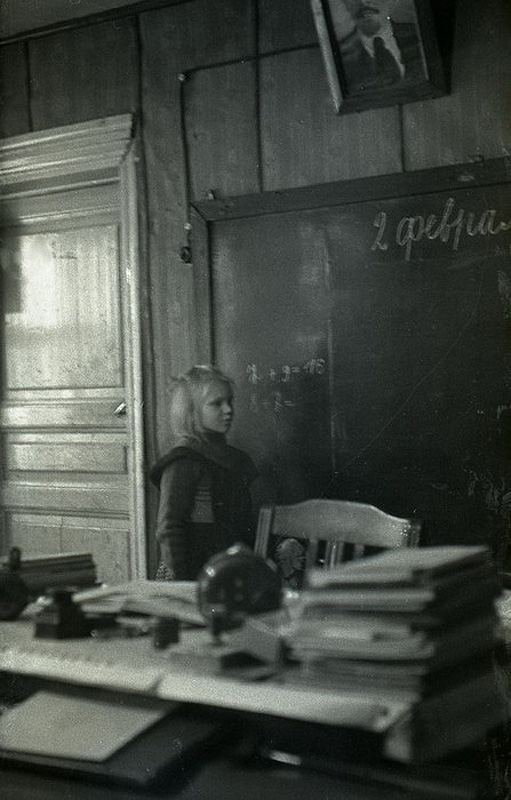 3140 Школа в советской деревне 1964 год
