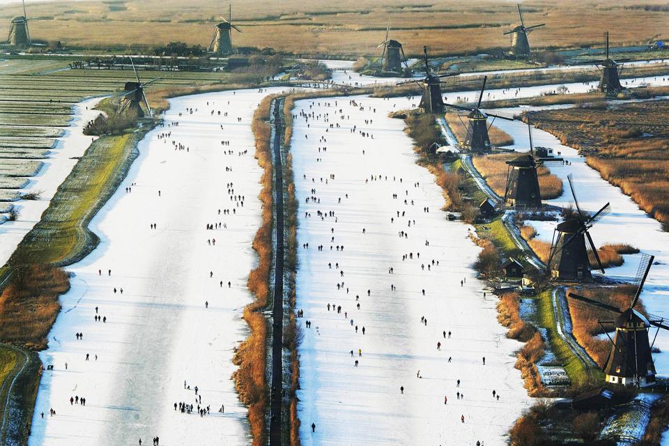 3179 Фотографии Нидерландов с воздуха