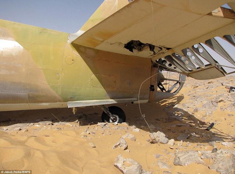 3183 В Сахаре нашли самолет Королевских ВВС времен Второй мировой