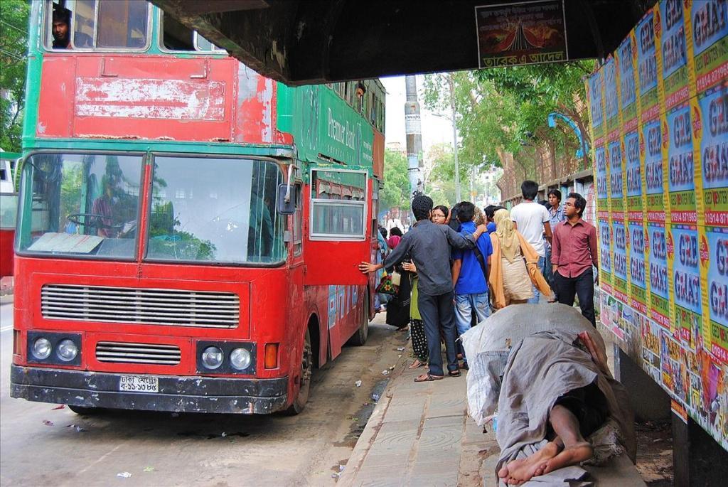 3215 Дакка: хроники социальной помойки или как пережить 5 дней в ужасном мегаполисе