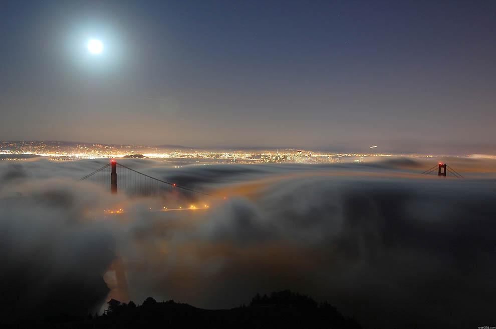 3225 Города окутанные туманом