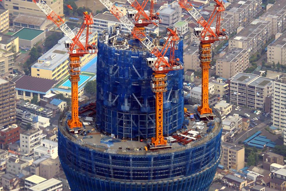 3231 Грандиозная телебашня в Токио