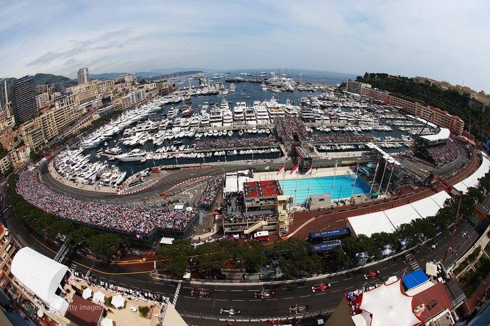 3716 За кадром 70 го Гран При Монако 2012: фоторепортаж