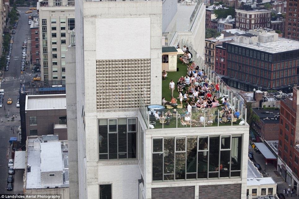 380 Крыши Нью Йорка, какими вы их еще не видели