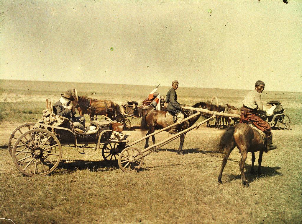 41 Глубокий феодализм в цвете: Российский протекторат Монголия в 1913