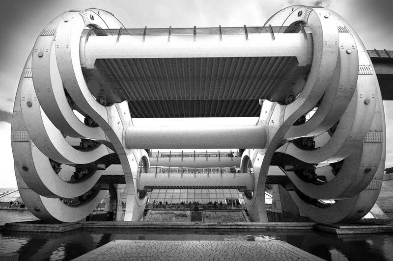 4143 Захватывающая дух архитектура на снимках Дэйва Уилсона