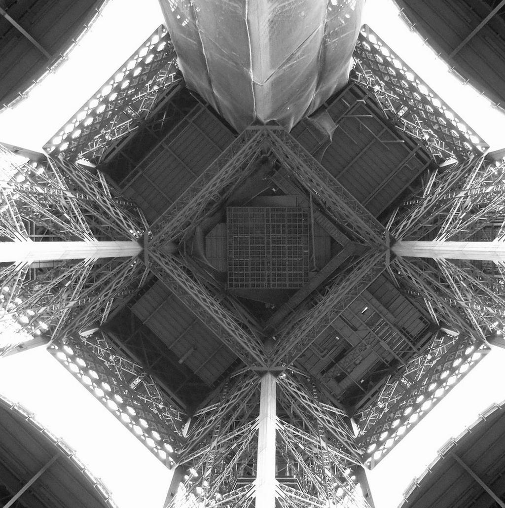 4174 Эйфелева башня: Взгляд снизу