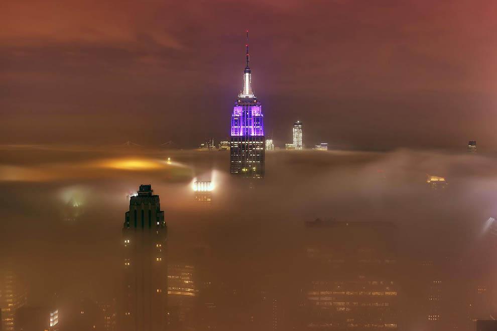 4180 Города окутанные туманом