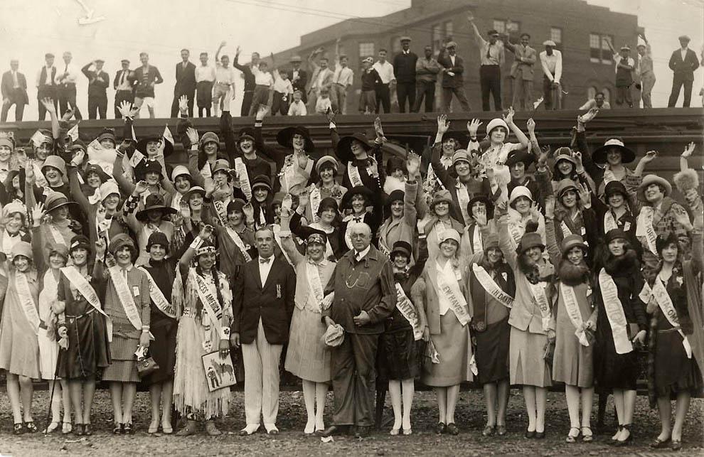 4205 Конкурсы красоты в Америке между двумя войнами   1924 1939 годы