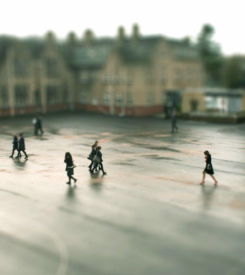4210 Фотоэффект Tilt Shift