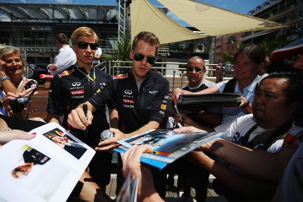 4223 За кадром 70 го Гран При Монако 2012: фоторепортаж