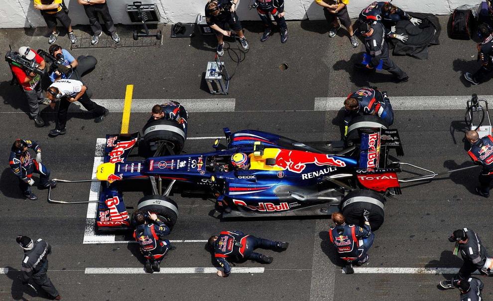 4224 За кадром 70 го Гран При Монако 2012: фоторепортаж