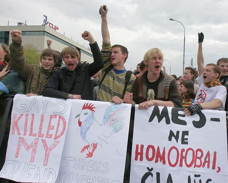 4230 Лица гомофобии разных стран мира